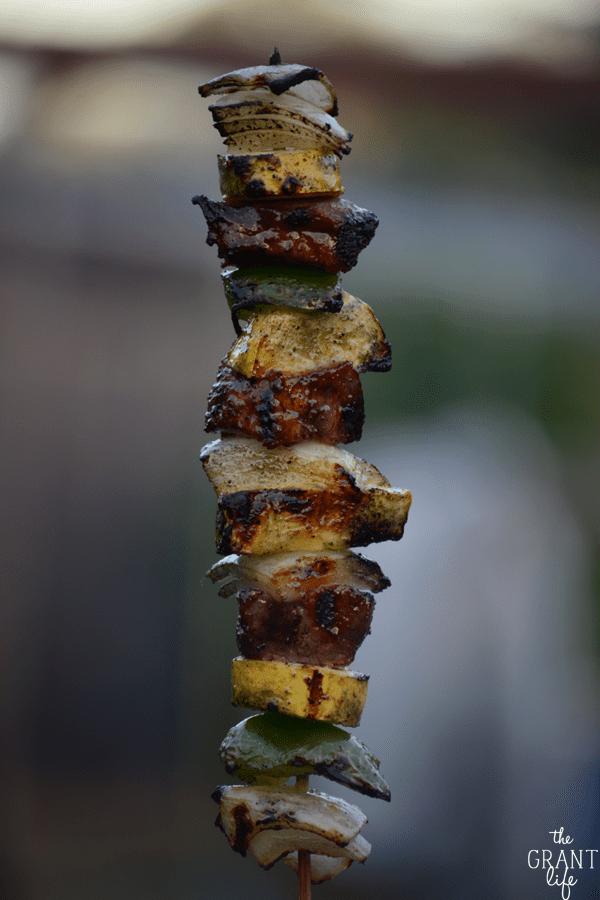 Italian Steak Kebabs