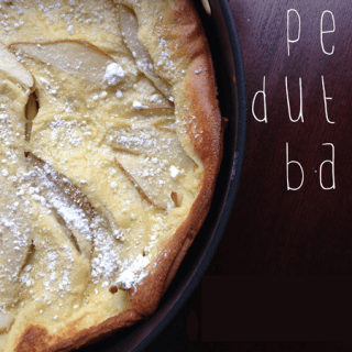 Pear Dutch Baby