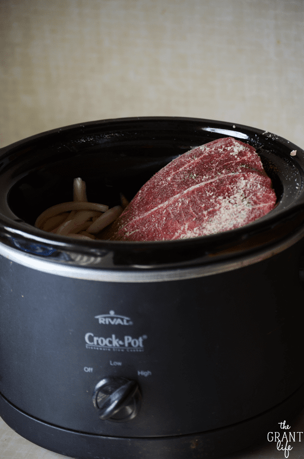 Perfect crock pot pot roast recipe