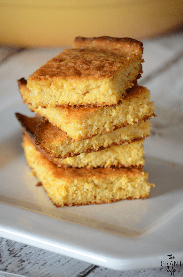 Skillet honey cornbread recipe!  It's perfect for soup or just to snack on during the day
