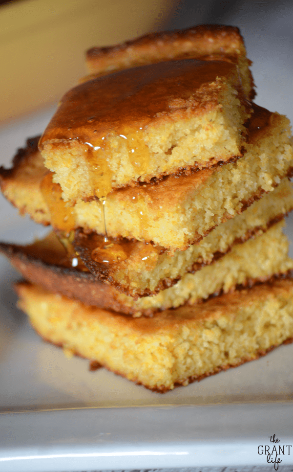 Skillet honey cornbread recipe! This looks amazing