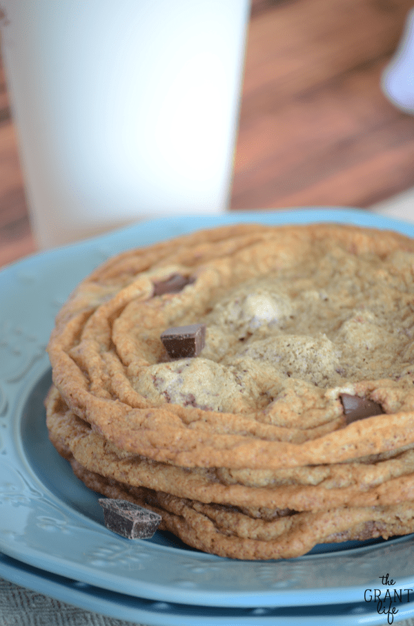 Chocolate chunk cookie recipe - Starbucks copycat!