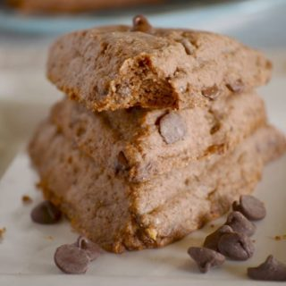 Chocolate scone recipe - made healthier with a few swaps!