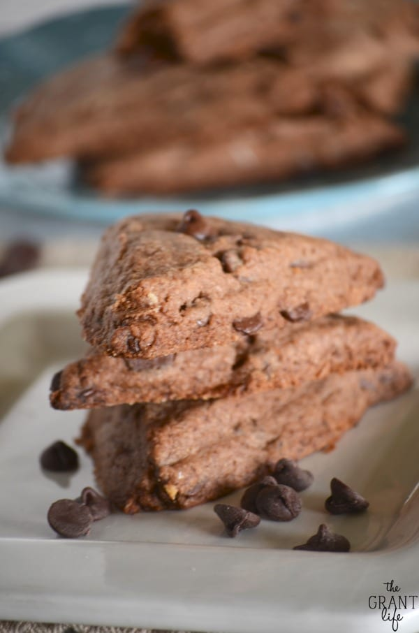Easy healthier chocolate scone recipe