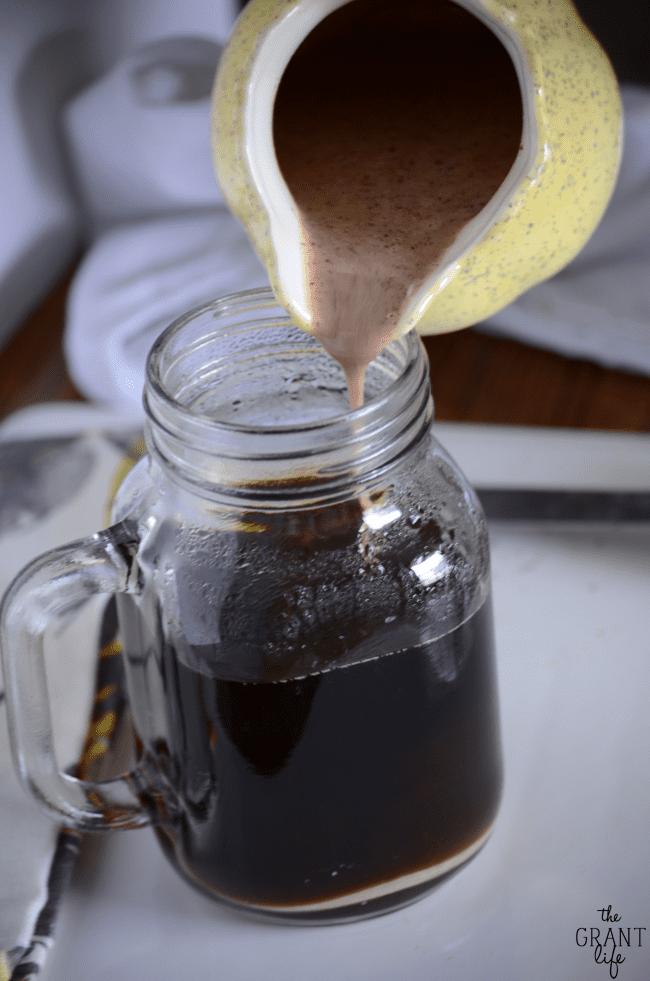 Homemade carrot cake coffee creamer recipe