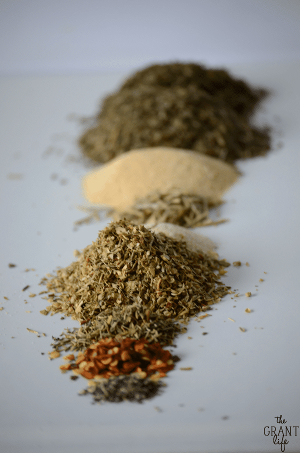 Make your own Italian seasoning!