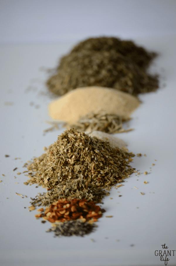 Make your own Italian seasoning!