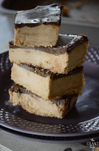 No bake peanut butter bar recipe