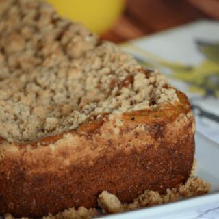 Zucchini bread with crumb topping recipe