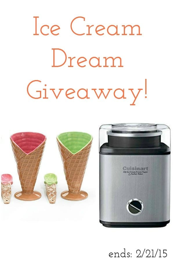 ice cream dream giveaway