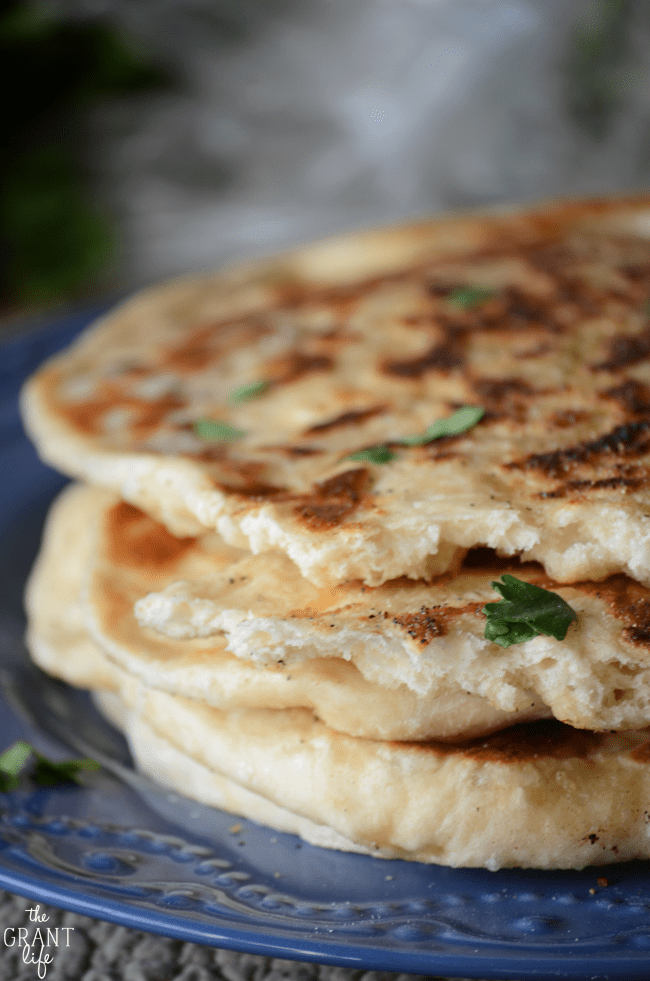 How to make homemade naan at home!