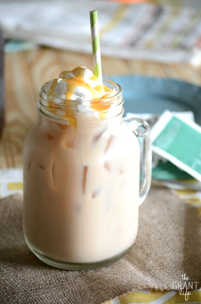 Image result for iced vanilla latte