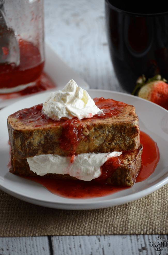 Strawberry Shortcake French Toast