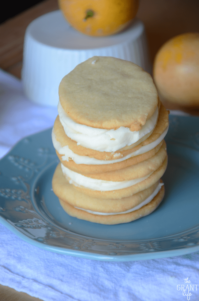 lemon butter cream cookie recipe