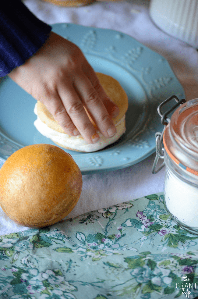 lemon buttercream cookies