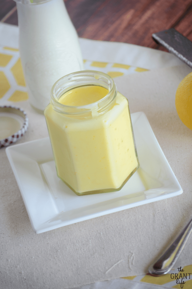 Easy lemon cream recipe