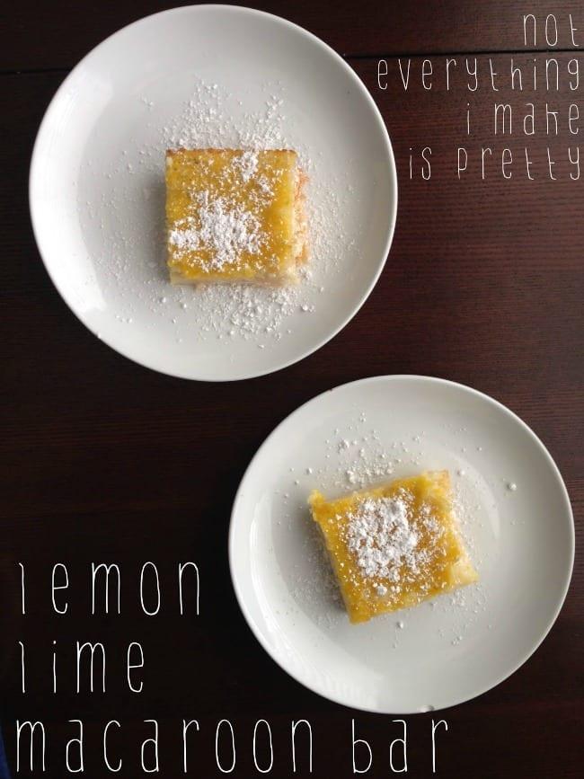 lemon lime macaroon bar recipe 2