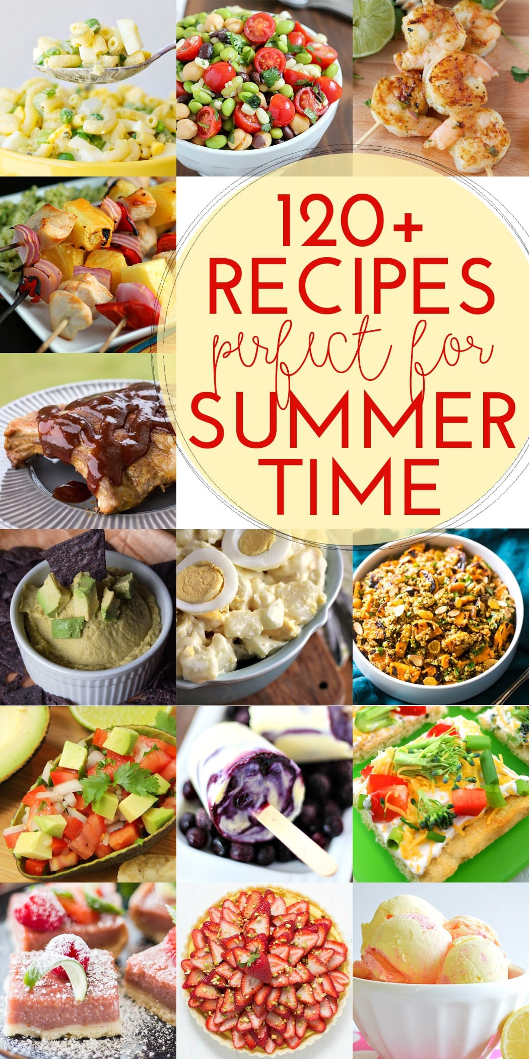 100+ Recipes for Summer