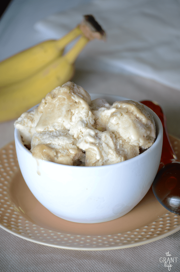 Banana Foster Ice Cream