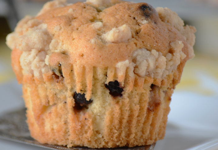 Easy and delicious bakery style blueberry muffins!