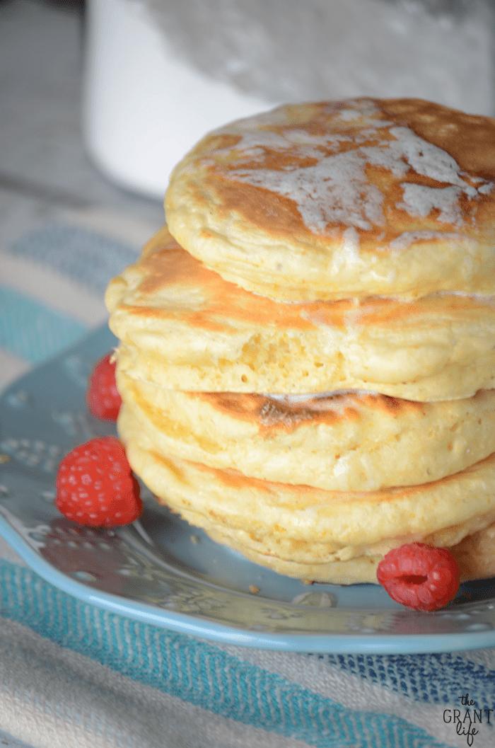 How to make homemade fluffy pancake mix