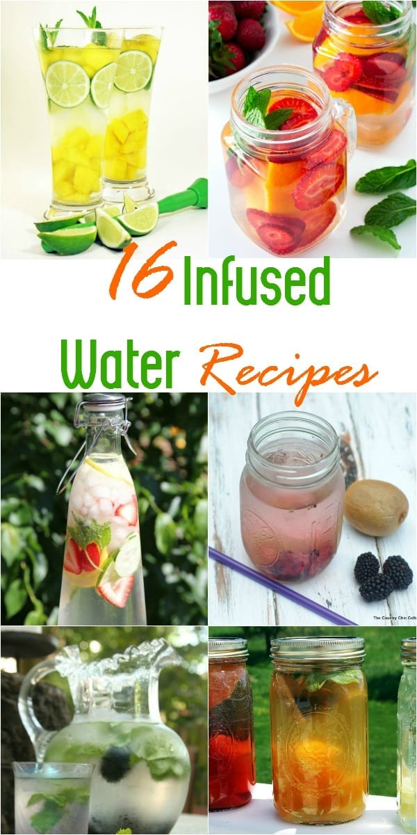 16 Infused water recipes to try