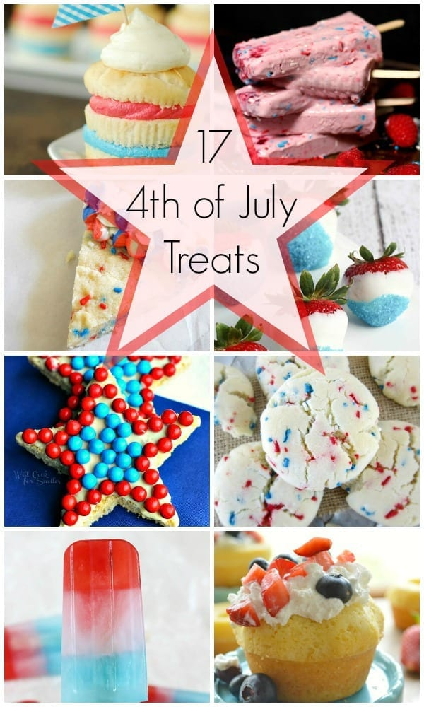 17 4th of July treats you have got to try!