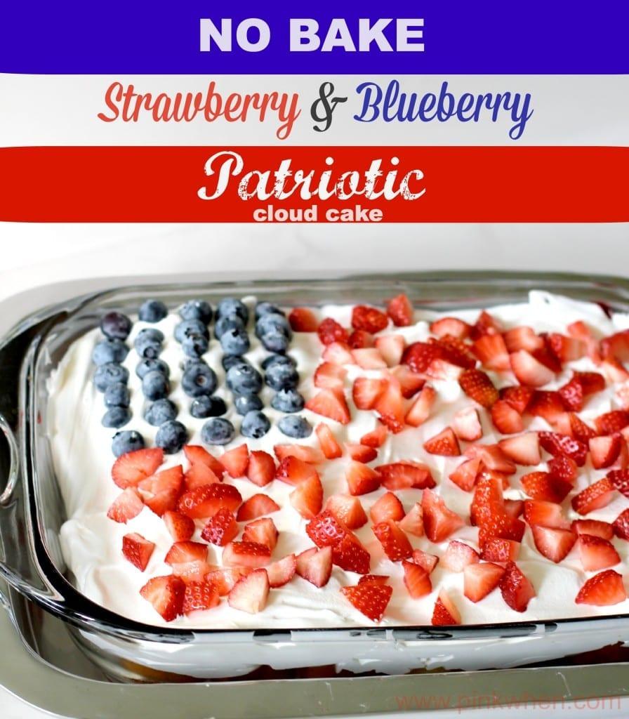 No-Bake-Strawberry-Blueberry-Patriotic-Cloud-Cake-5