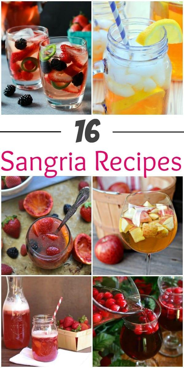 16 Sangria recipes to try