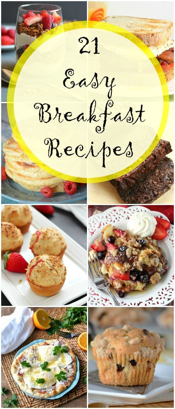 21 easy breakfast recipes to try