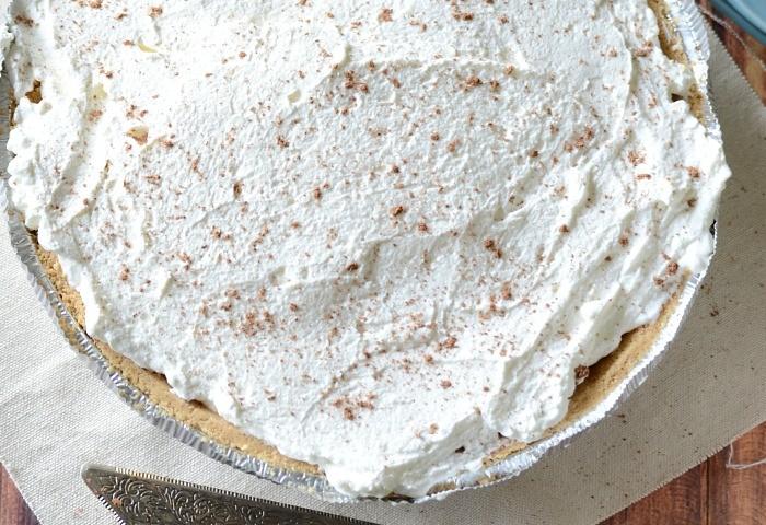 Easy banoffe (banana toffe) pie recipe
