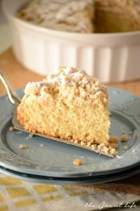 New York style coffee cake recipe
