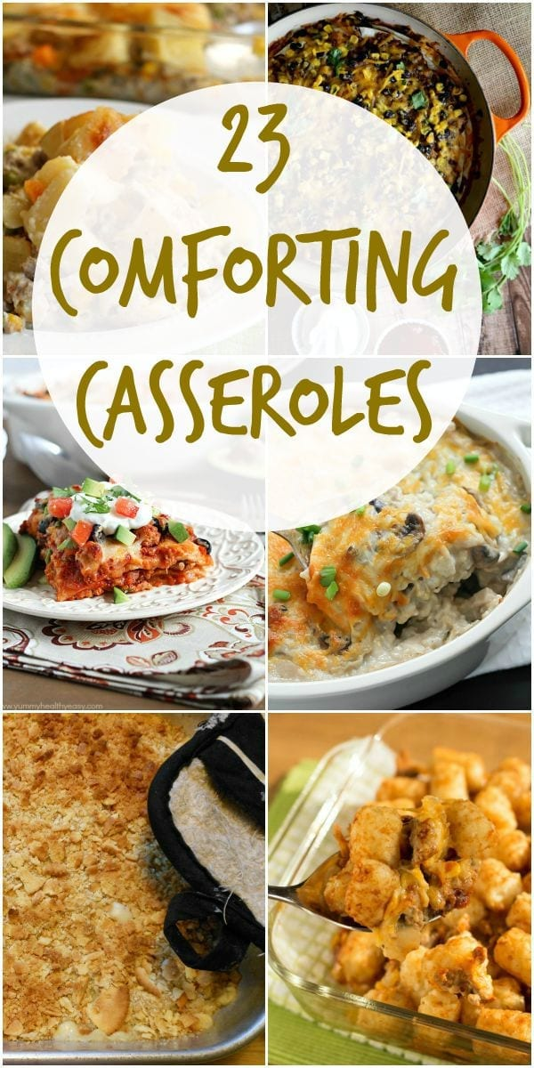 23 comforting casseroles to try