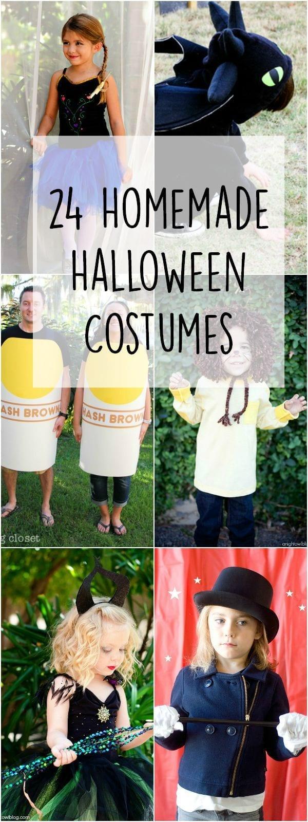 24 homemade Halloween costumes