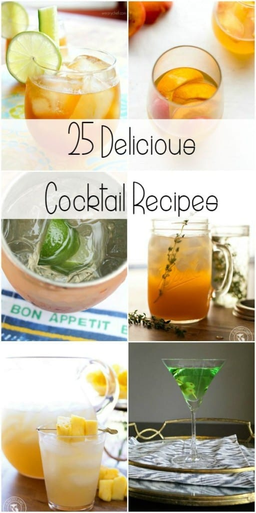 25 cocktail delicious cocktail recipes