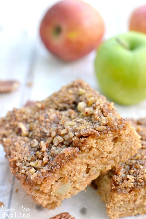 Apple Snack Cake - because you need a snack cake after a long day!