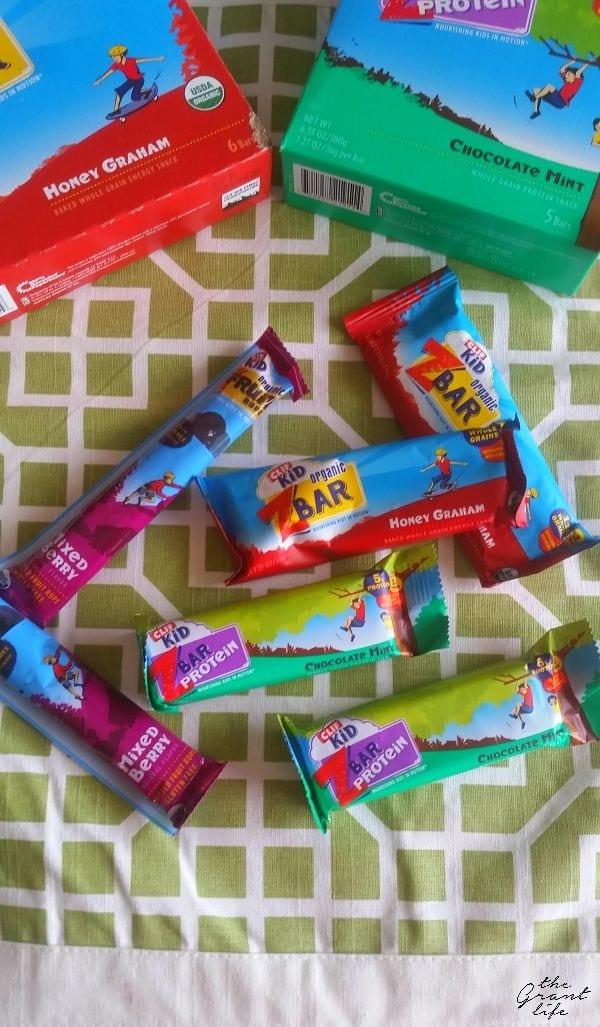 CLIF bars for kids