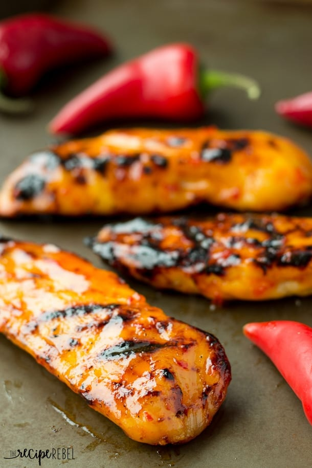 Homemade-Sweet-Chili-Grilled-Chicken-www.thereciperebel.com-2-of-7