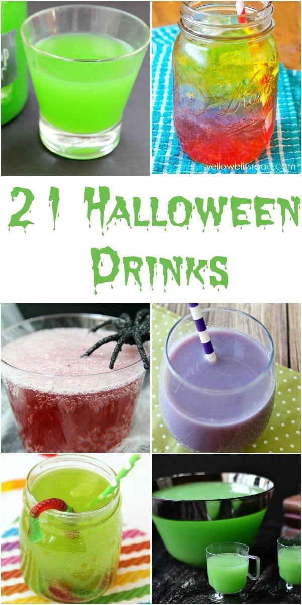 21 Halloween drinks