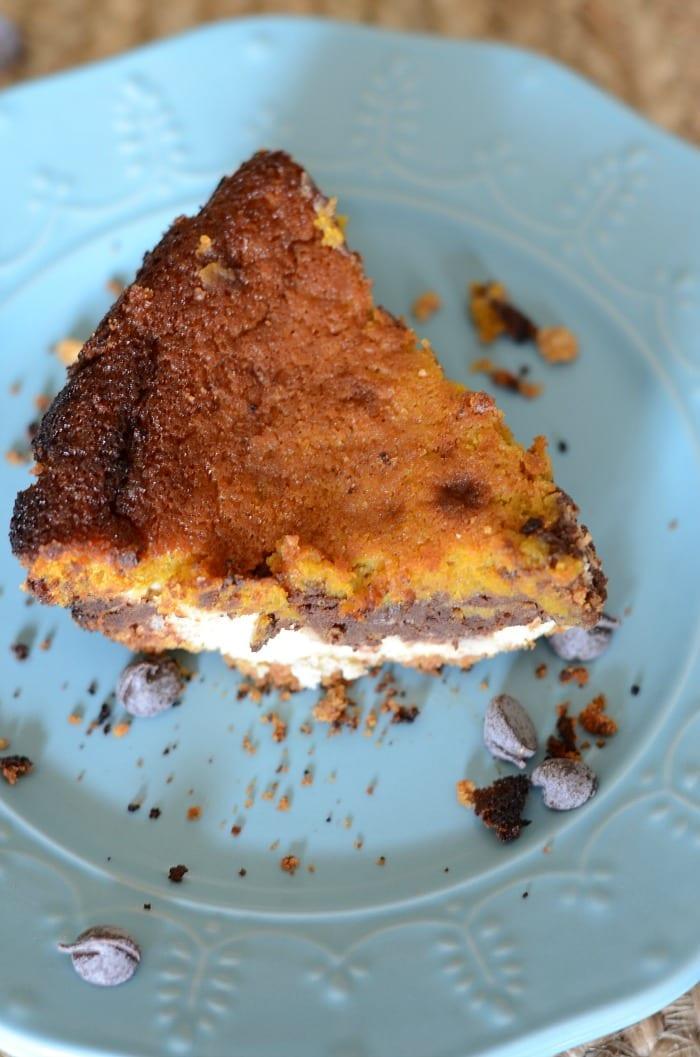 Chocolate cheesecake pumpkin pie recipe