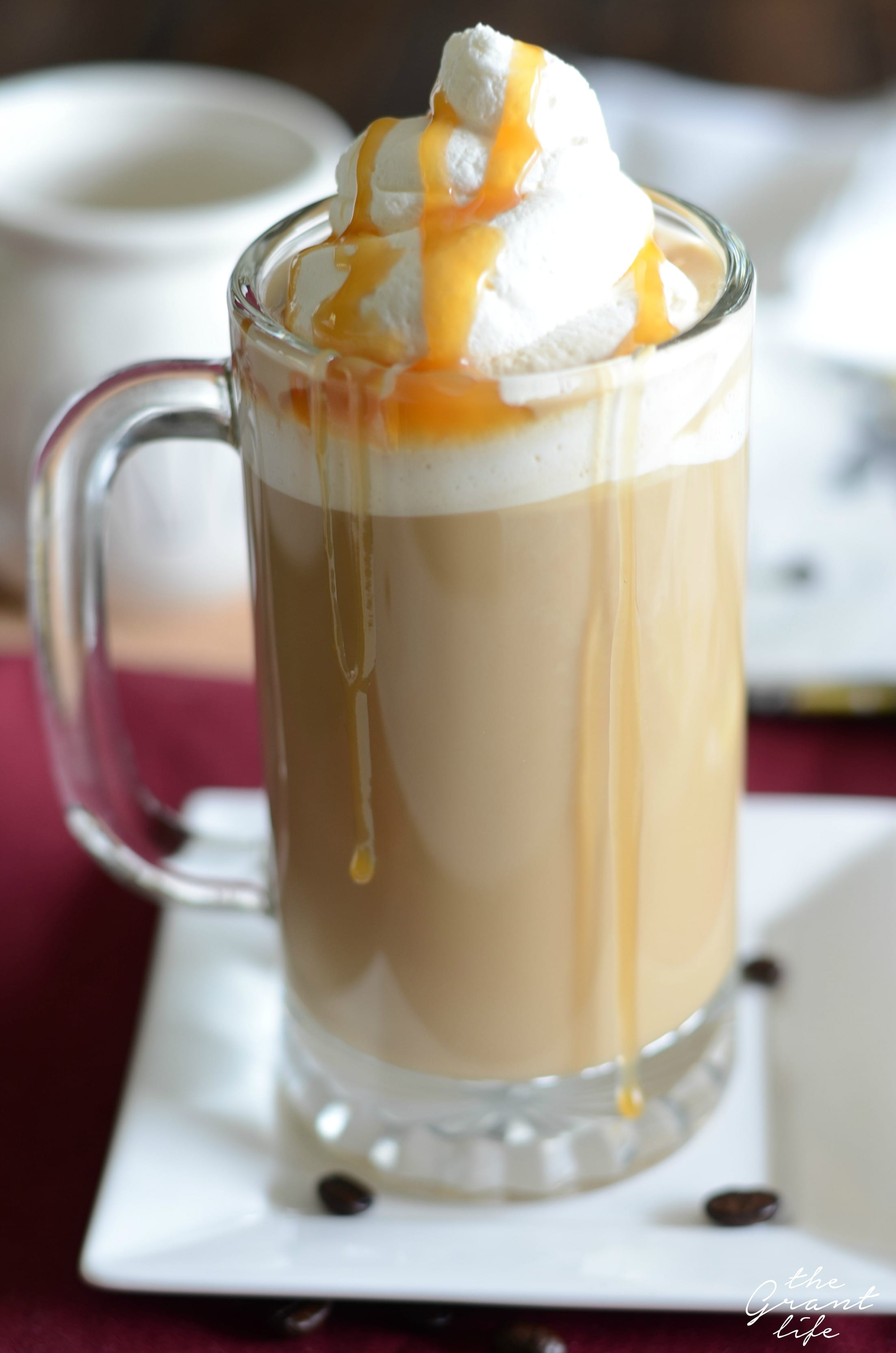 How to make a butterbeer latte at home