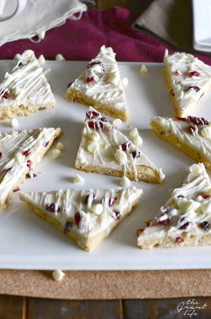Cranberry bliss bar recipe