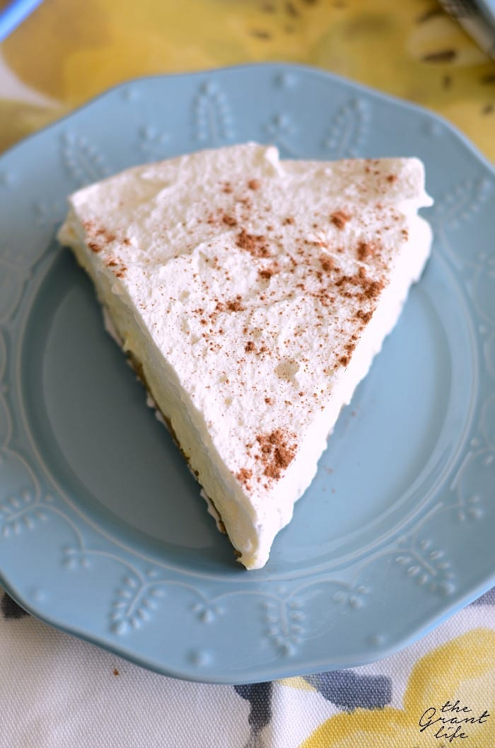 Easy French vanilla silk pie recipe