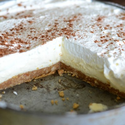 French vanilla silk pie