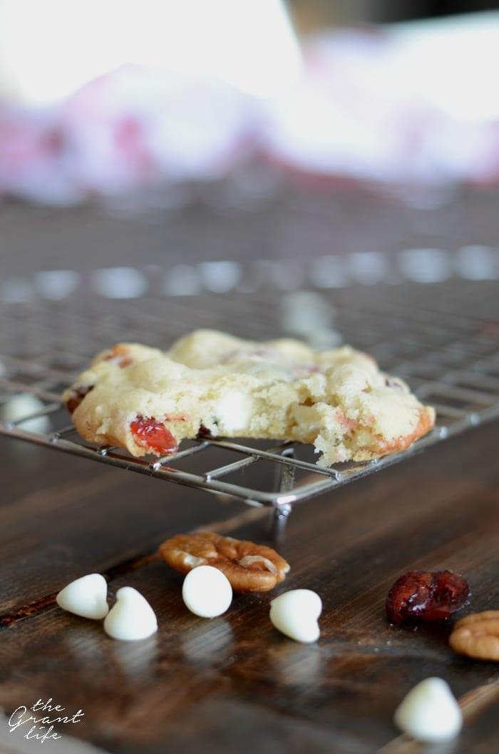 Cranberry white chocolate cookie recipe