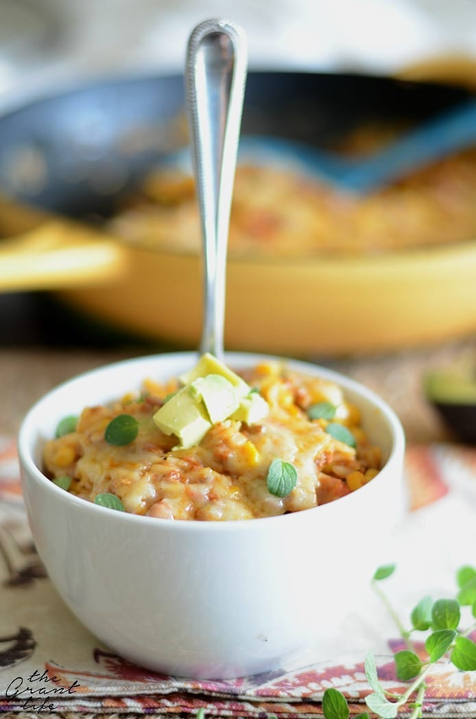 Easy Mexican rice casserole recipe