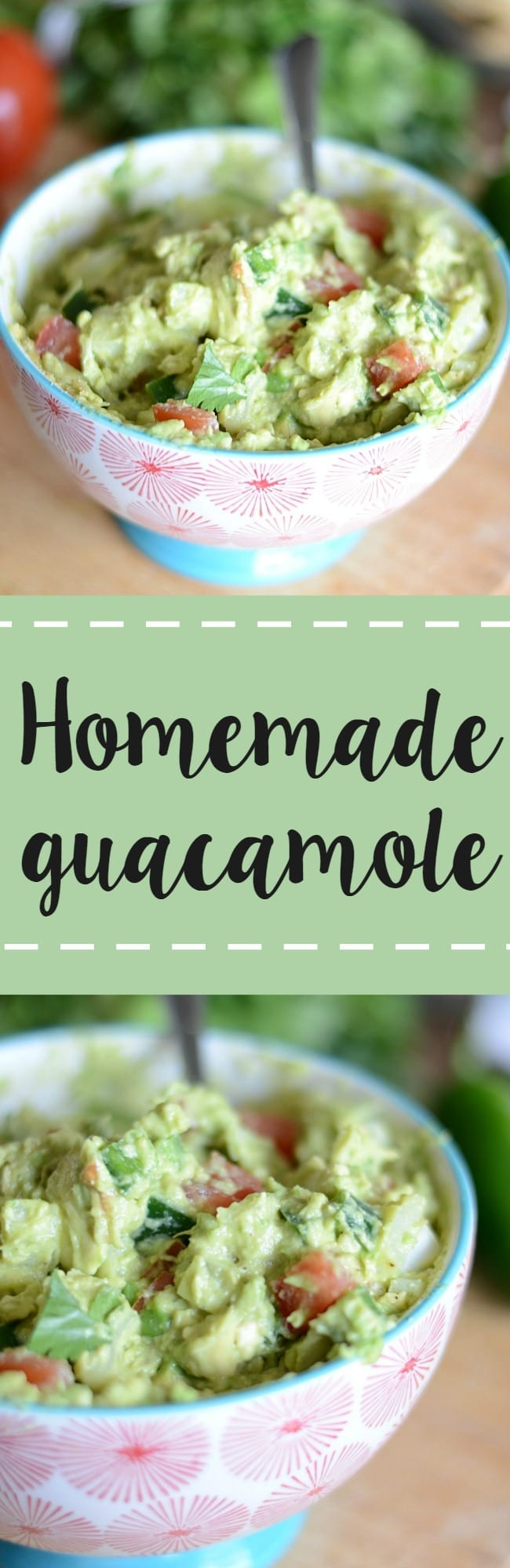 Easy homemade guacamole recipe! I always get asked my recipe when I make this - it's that good!