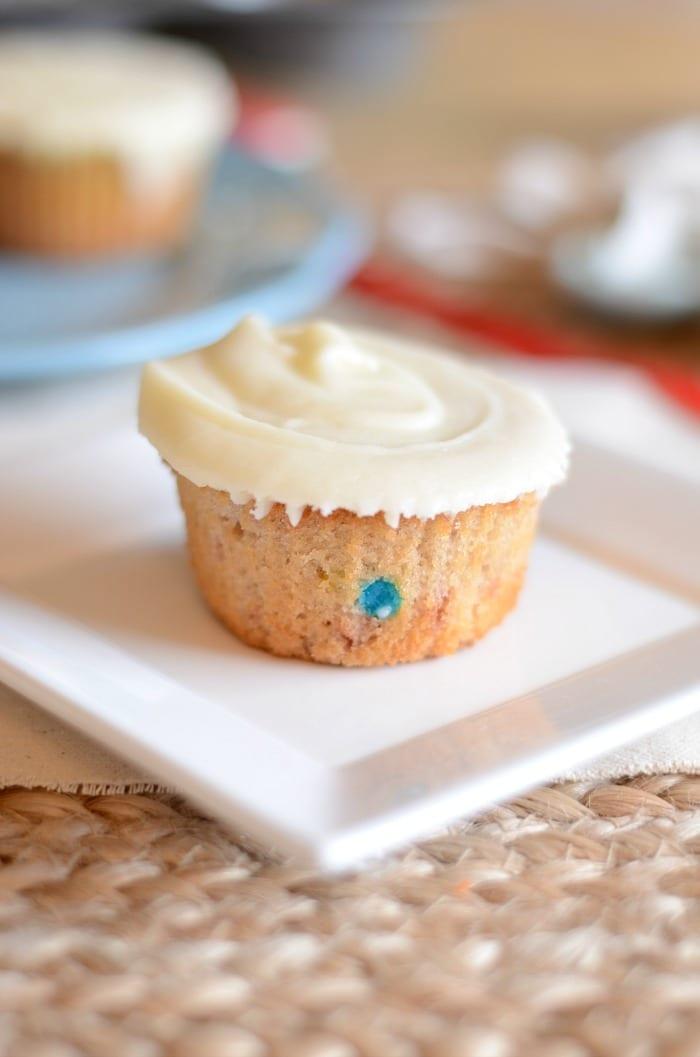 Homemade strawberry funfetti cupcake recipe