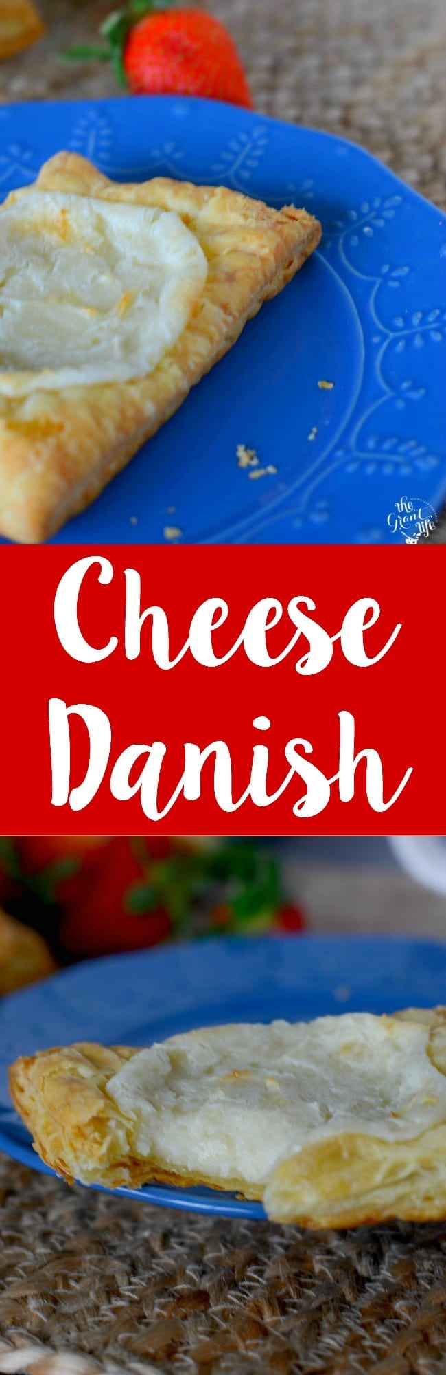 Copycat Starbucks cheese danish!  Make this easy copycat recipe at home!