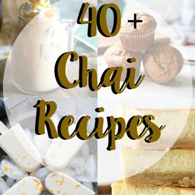 40+ chai recipes